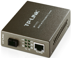TP-Link 100M WDM optički pretvarač, 10/100M RJ45 u 100M Single-mode SC, Full-duplex,Tx:1550nm, Rx:1310nm, do 20km