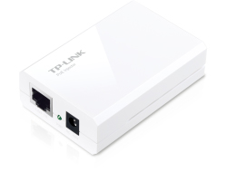 TP-Link PoE adapter Kit, 1 Injector + 1 Splitter, 100m PoE Extension, 12/9/5VDC output, Plug and Play