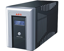 AEG UPS Protect A 1400VA/840W, Line-Interactive, AVR, Data line/network protection, USB/RS232