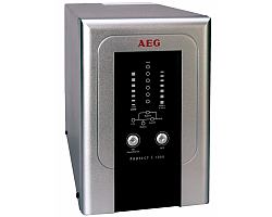 AEG UPS Protect C 1000VA/800W, VFI, On-line double conversion, floor standing, automatic bypass, RS232 interface