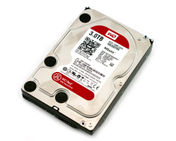 Western Digital Caviar Red 3TB SATA3 NASware, IntelliPower, 64MB cache (WD30EFRX)