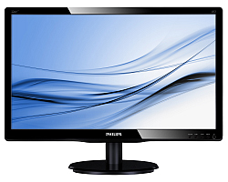 "Philips 22"" 226V4LAB/00 (21.5"") 16:9 Full HD (1920×1080) LED TFT, 5ms, 250 cd/m2, zvučnici, D-Sub/DVI-D, crni"