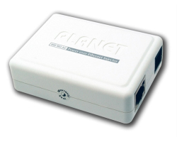 PLANET PoE Injector IEEE802.3af, End-Span za G-LAN