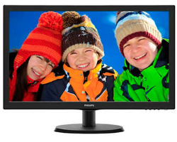 "Philips 22"" 223V5LSB2/10 (21.5"") 16:9 Full HD (1920×1080) LED TFT, 5ms, 200 cd/m2, D-Sub, crni"