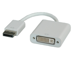 Roline adapter/kabel DisplayPort(M) na DVI(F), 0.15m
