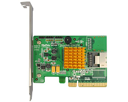 HighPoint RocketRAID 2710 SAS/SATA 6Gb/s 4-Channel PCI-E x8 RAID Controller, Retail