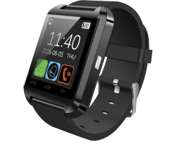 "MeanIT M2 SmartWatch 1.44"" IPS Touchscreen, Bluetooth, crni"
