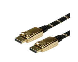 Roline GOLD DisplayPort kabel, DP-DP, M/M, 10m