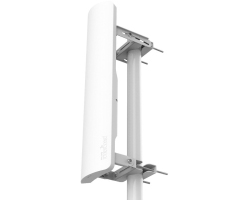 Mikrotik RB921GS-5HPacD-19S, mANTBox 19s, 5GHz 120 degree 19dBi 2X2 MIMO Dual Polarization Sector Antenna, 720MHz CPU, 128MB RAM, 1xGbit LAN, 1xSFP, PoE, PSU, mounting kit, RouterOS L4