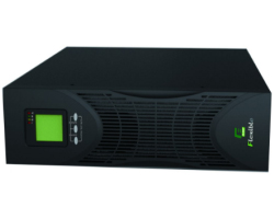 Elsist UPS Flexible 3000VA/2700W, On-line double conversion, DSP, rack/tower, LCD
