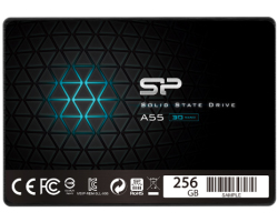 "Silicon Power 2.5"" A55 256GB SSD SATA3 TLC 3D NAND, R/W: 550/530MB/s"