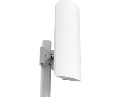 Mikrotik RB911G-2HPnD-12S, mANTBox 2 12s, 2.4GHz 120° 12dBi sector antena, Dual Chain 802.11bgn wireless, 600MHz CPU, 64MB RAM, 1xGigabit LAN, PSU, POE, pole mount, RouterOS L4