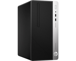 HP ProDesk 400 G4 MT, Intel Core i5-7500, 8GB DDR4, 256GB SSD, DVD+/- RW, Intel HD, G-LAN, Windows 10 Professional + tipkovnica/miš