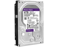 Western Digital Purple 8TB SATA3, 5400rpm, 256MB cache (WD81PURZ)