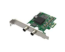 Magewell Pro capture SDI, LP PCIe x1, 1-channel SD/HD/3G/2K SDI, Single channel bypass loop, Windows/Linux/Mac (11050)