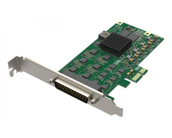 Magewell Pro capture hexa CVBS, LP PCIe x1, 6-channel CVBS, SD, 6 unbalanced stereo audio, Windows/Linux/Mac (11250)