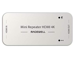 Magewell Mini Repeater HDMI 4K, The repeater receives and equalizes an HDMI signal and outputs it to another HDMI cable (43010)