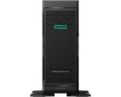 "HP ProLiant ML350 G10 Performance, 2×Intel Xeon Silver 4114 (2.20GHz) 2×16GB RAM, SAS Hot-Swap 2.5"" (no HDD), GigE, P408i-a, 2×800W PS, 4U Tower"