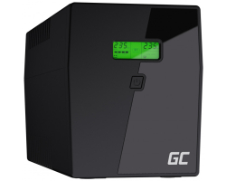 Green Cell UPS Micropower 1500VA/900W, Line Interactive AVR, LCD
