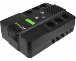 Green Cell UPS AiO 800VA/480W, Line Interactive AVR, LCD
