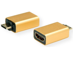 Roline GOLD adapter mini HDMI(M) - HDMI(F)